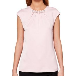 Ted Baker Camble Pearl Embellished Top, US 2